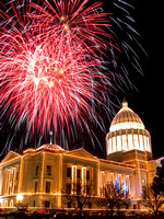 Fireworks over the Capitol